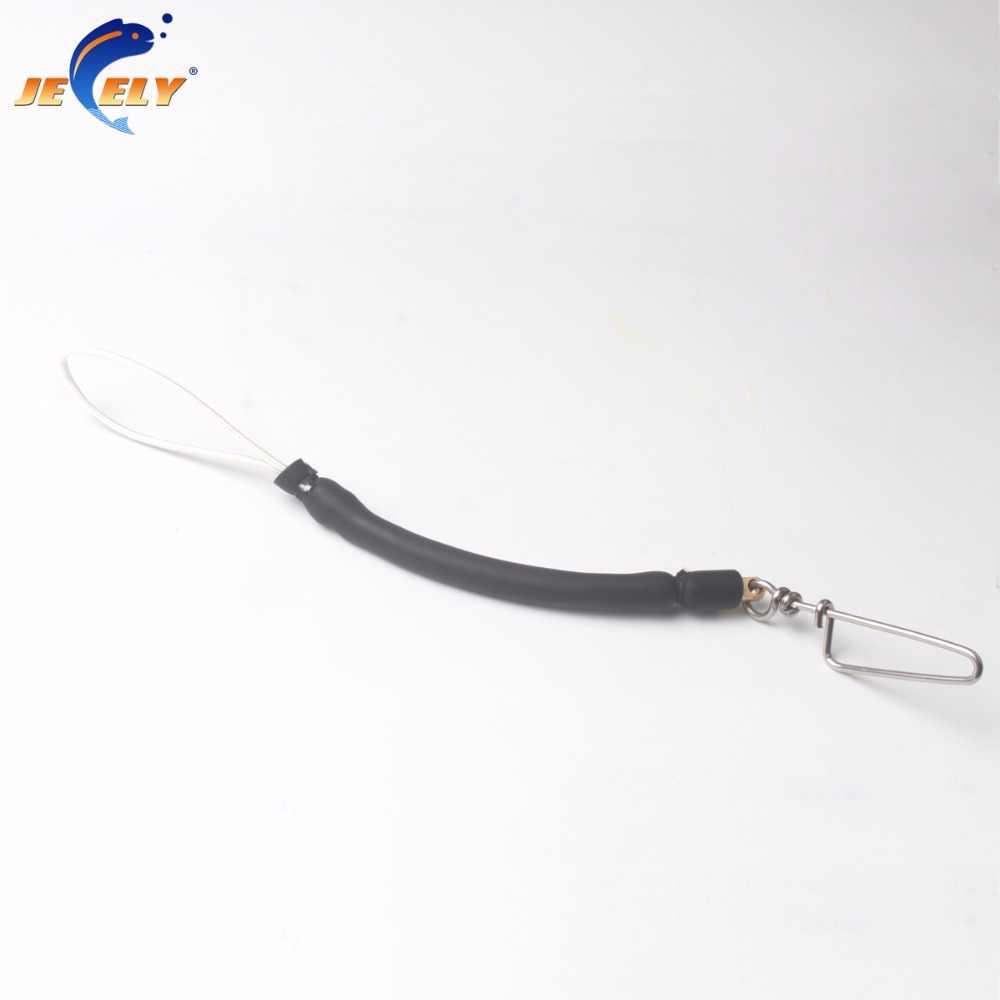 12cm accessoires de chasse sous-marine Super cordon élastique avec Spectra/tire-bouchon queue de cochon pivotant/Snap pour pistolets