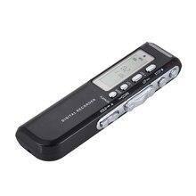 8GB USB Pen dyktafon cyfrowy aktywowana głosem dźwięk cyfrowy rejestrator MP3 odtwarzacz muzyczny Voice active VAR A-B powtarzająca się pętla