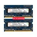Пожизненная гарантия для hynix DDR3 2 ГБ 1333 мГц PC3-10600S оригинальной аутентичной DDR 3 2 г портативный ноутбук памяти RAM 204PIN SODIMM