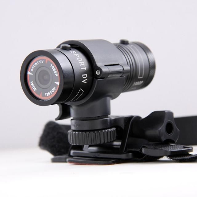 Mini F9 HD Bike Motorcycle Helmet Sport Action Camera Car Video DVR DV Camcorder