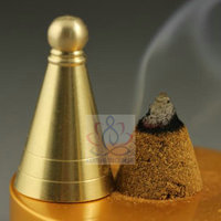 3.5cm Copper Incense Cone Tower Mould Tool for Incense Powder Supper Easy DIY Incense Way Free Shipping