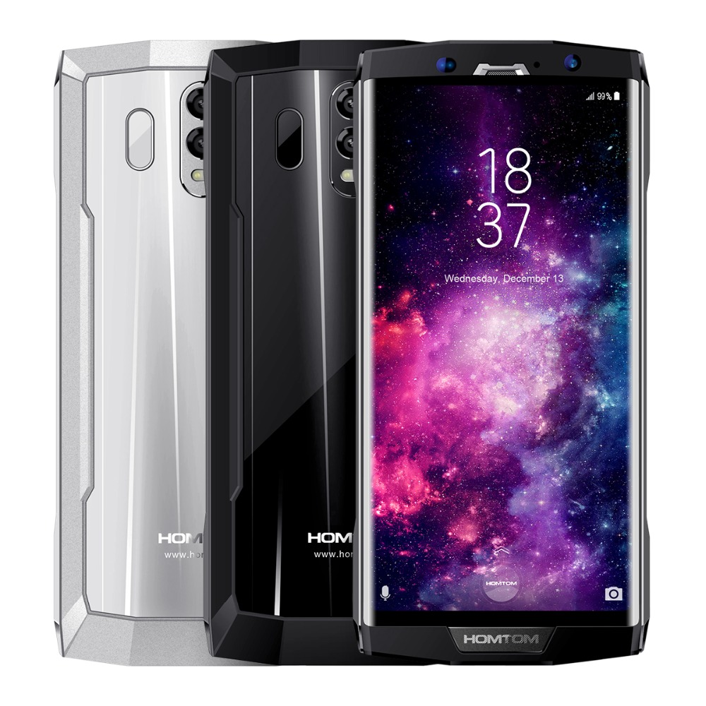 HOMTOM HT70 4G Smart Phone 6.0 Inch Android 7.0 MTK6750T Octa Core 1.5GHz 4GB RAM 64GB ROM Dual Rear Cameras 10000mAh Battery