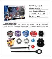 Super Bitwa Metal Mistrz Burst Wirowania Żyroskopu Beyblade Bączek dla Dzieci Zabawki Toupie Garnitur Dla Dzieci Zabawa Zabawki Klasyczne zabawki