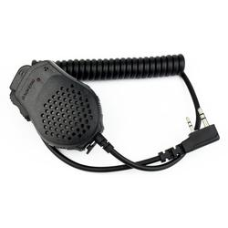 2 دبوس ptt سماعات mic ميكروفون ل كينوود baofeng wouxun puxing راديو pofung