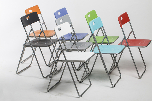 Plastic training folding steel cr conference and Exhibition dormitory necessary FREE SHIPPING