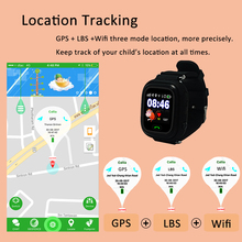 GPS Q90 Smartwatch Touch Screen WIFI Positioning Children Smart Wrist Watch