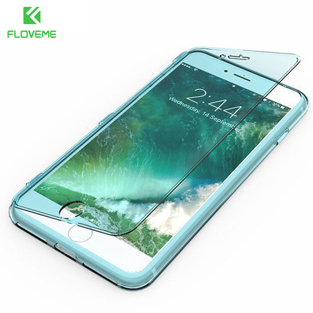 super cute 9e48f 68b67 US $3.99 |FLOVEME Flip Phone Case for iPhone 8 8 Plus Silicone TPU Clear  Flip Case for iPhone 6 6S 7 7 Plus Crystal Cover Ultra Thin Coque-in Flip  ...