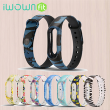 For Xiaomi Mi Band 2 Bracelet Strap Replacement Wristband Colorful Wrist Strap Smart Band Accessories