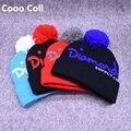 Мужская Мода Шапочки Зима Улица скейтбординга мужчины женщины шерсть шляпа 4 цвета Теплые зимние шапки Алмазный шерстяная шапочка Cooo Coll