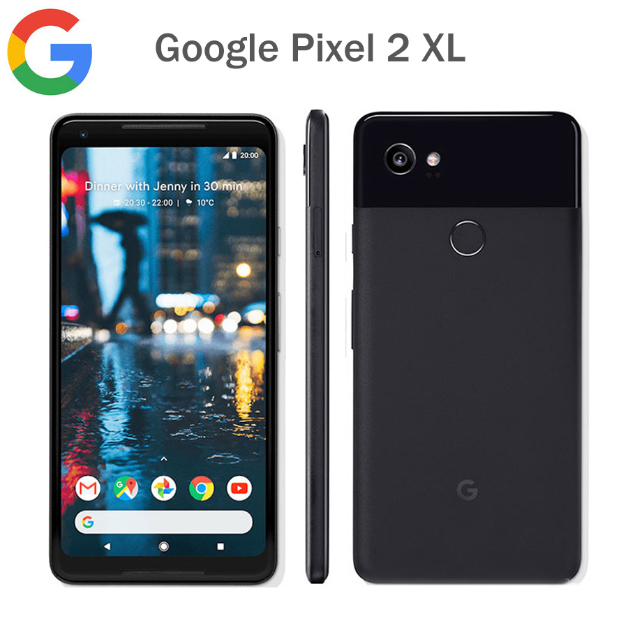 Original Google Pixel 2 XL US Version LTE Mobile Phone 6.0 4GB RAM 64GB/128GB ROM Snapdragon 835 Android Fingerprint CallPhone image
