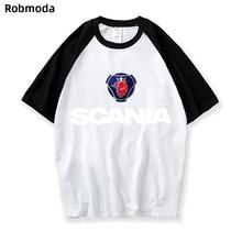 2019 New Hot sale Scania Brand icon men and women Raglan tshirts Print Cotton casual T shirts Loose fashion tee shirt oversized все цены