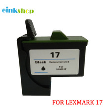 цена на 1PK Black Ink Cartridges For Lexmark 17 10N0217 For Lexmark Z13/Z23/Z25/Z33/Z35/Z603/Z605/X75/X1150/Z515/Z615