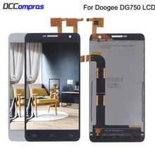 Oiginal For Doogee DG750 LCD Display Touch Screen Digitizer Phone Parts For Doogee DG750 Screen LCD Display Replacement for doogee dg700 new assembly doogeedg700 phone touch screen lcd display screen to display on the outside
