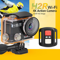 Geekam H2 H2R Wifi Action Camera 4K 30M Go Waterproof Pro Sport Dv Bike Helmet Cam
