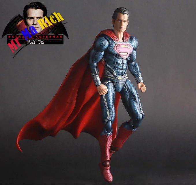 Superman Action Figure Dawn Of Justice Batman Vs Superman Crazy Toy Figure Doll chanycore doll movie joker wonder woman batman vs superman dawn justice dc vinil vinyl figure action figure model kids toys