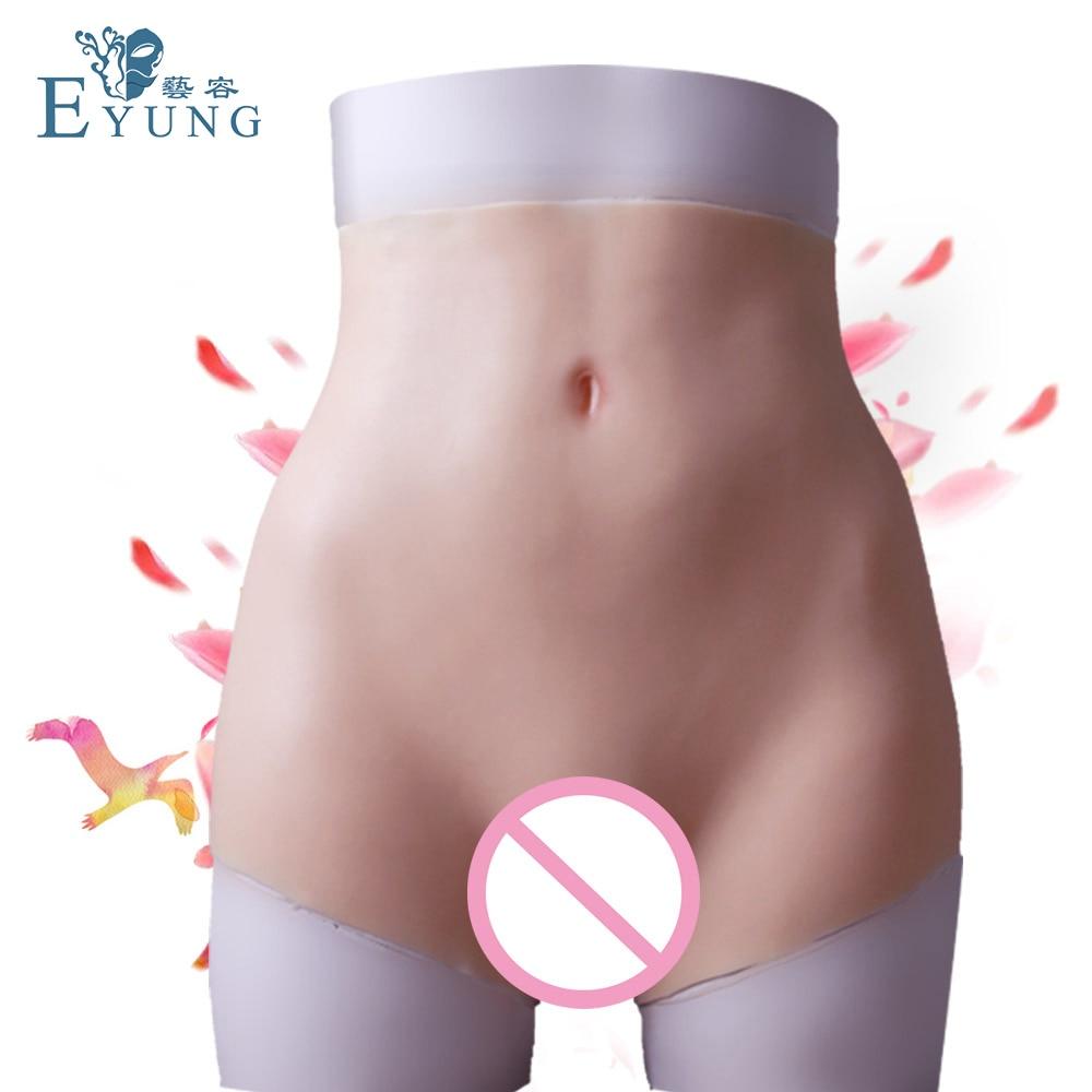 Nuovo aumento fianchi del silicone della vagina biancheria intima per crossdresser Falso Glutei Culo enhancer Shaper Hip Up per la donna figa biancheria intima