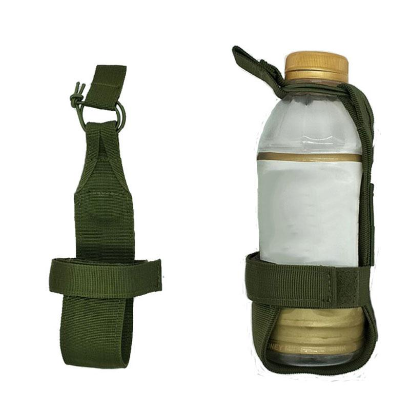 Molle System Nylon Water Bottle Tactical Hiking Camping