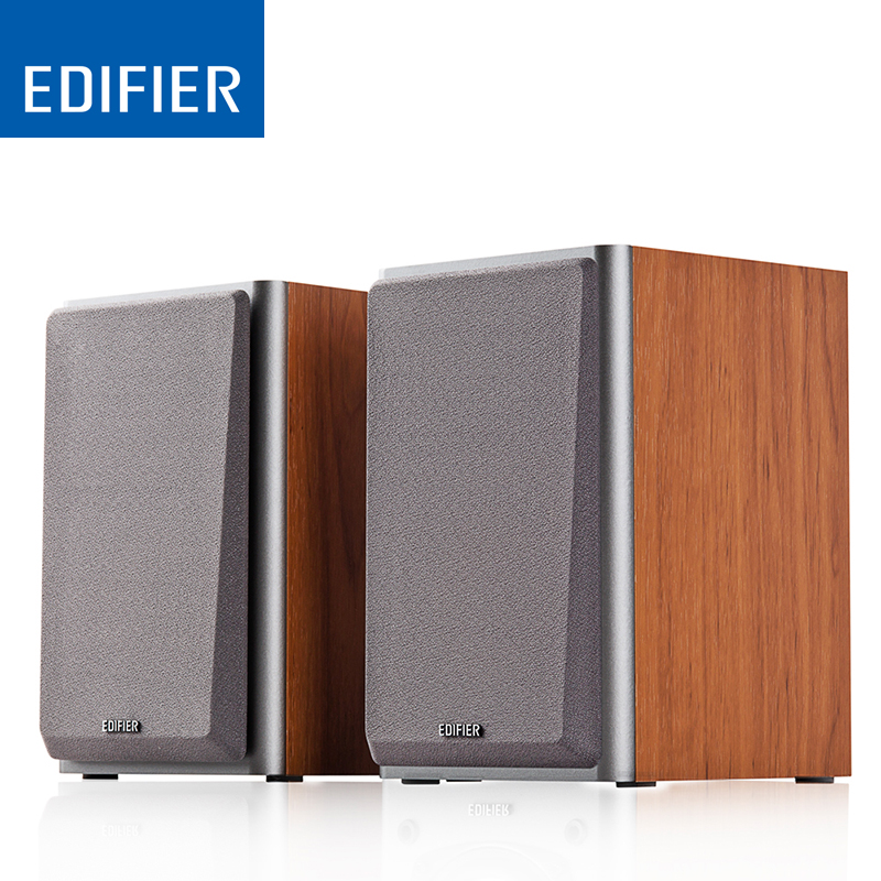 EDIFIER R1000T4 Portable Wood Speaker Uncompromising Sound Home Theatre Speakers with 4 inch Bass Driver Bass Speakers boss bb 1x bass driver