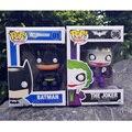2 unids/lote funko pop película 1966 batman the joker figura de acción carácter figuras de colección de películas de vinilo hot toys