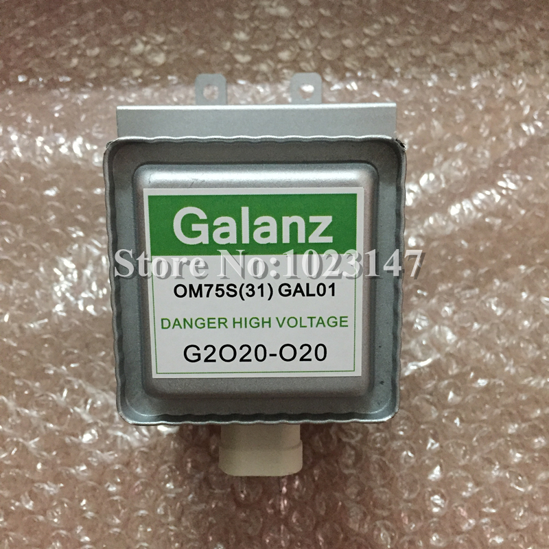 Hot sales ! Microwave Oven Part Galanz Magnetron OM75S(31) Refurbished Free Shipping To Russia! wiiix wiiix tr 01