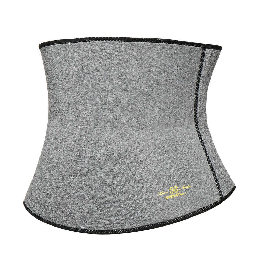 Женский термо тренировочный потение корректирующий утягивающий пояс корсет для поясницы для похудения Неопреновый Пояс для талии