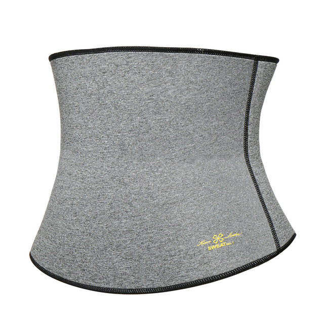 Women's  Thermo Sweat Neoprene Shaper Slimming Belt Waist Cincher Girdle for Weight Loss Neoprene Waist Trainer Corset Belt 3