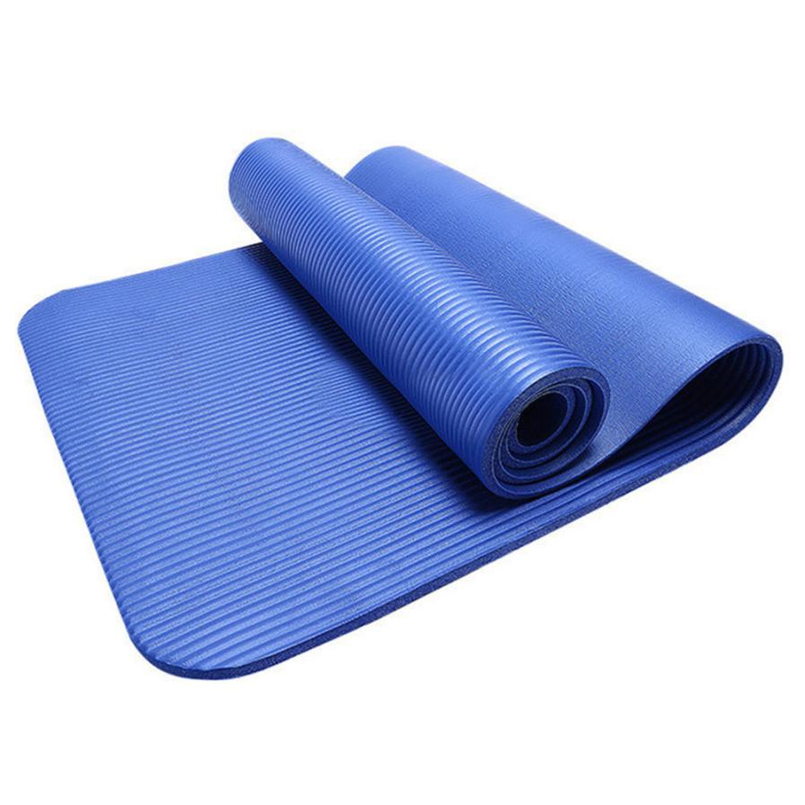 Ttcz10mm Thick Durable Yoga Mat Non Slip Exercise Fitness
