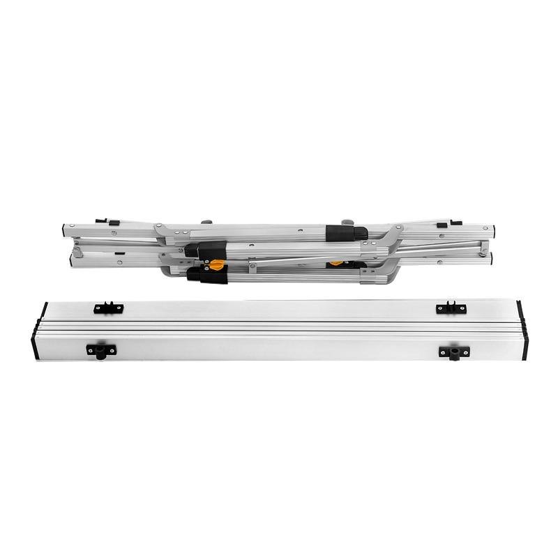 Metalowy kombinezon aluminiowy Przenośny składany stół piknikowy - Meble - Zdjęcie 3