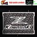 2016 new arrival aço inoxidável motocicleta radiador grelha guarda proteção kawasaki z750 z800 zr800 z1000 z1000sx