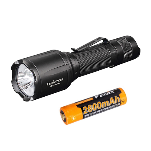 2017 NEW Fenix TK25IR 1000 lumens Cree XP-G2 S3 LED Flashlight +Fenix ARB-L18-2600 Battery аккумулятор fenix arb l18 2600