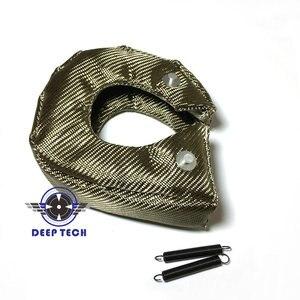 Image 4 - チタニウムターボブランケット熱シールドカバー T3 ターボチャージャー溶岩ターボチャージャー毛布カバー T04R TD07 TD08 GT35 GT45 TD04 GT25