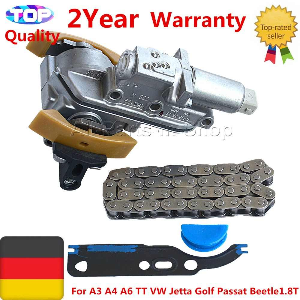 AP01 Timing Chain Tensioner Kit for A3 A4 A6 TT VW Jetta Golf Passat Beetle1.8T 058109088B 058109088E 058109088H 058109088K
