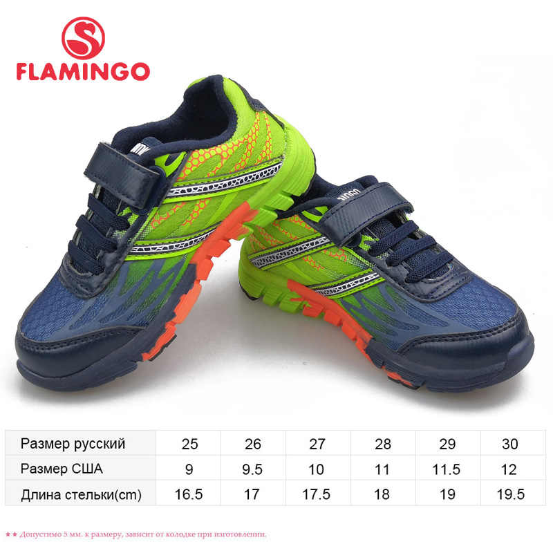 FLAMINGO Brand Summer Kids Shoes Leather Insoles Outdoor Sneakers for Children Boys Size 25-31 Free Shipping 91K-JSZ-1300