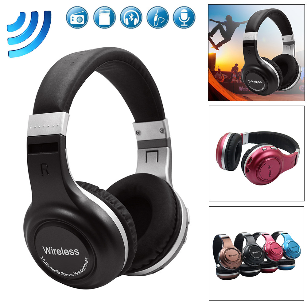 HIPERDEAL B61 Super Voice Stereo Sound Wireless Headphones Bluetooth 4.1 Headset Noise Cancelling Over Ear With Microphone BAY14