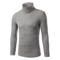 2016 Autumn And Winter New Men Korean Slim Men S Fashion Sweater With High Collar Sweater