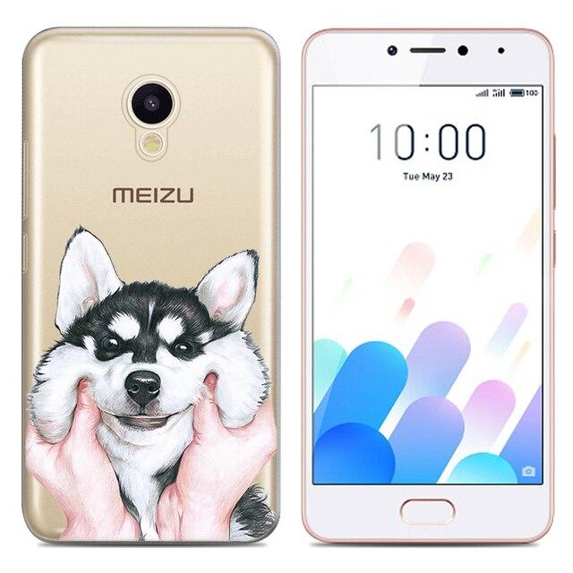 Drop Shipping TPU Soft Phone Case for Meizu M5c Meizu A5 Meizu Charm Blue A5 5-inch Fashion Pattern Colorful Painted 5