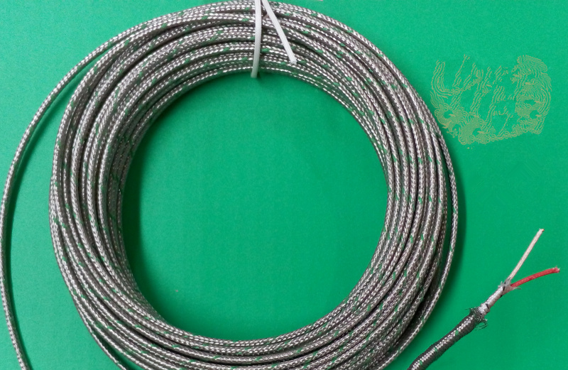10M Compensation Wire for S/R Type Platinum Rhodium Thermocouple 2*7 ...