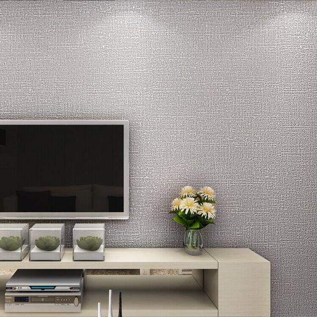 Estilo s lido papeles de la pared beige negro brown gris papel tapiz de fondo color behang - Papel de pared gris ...