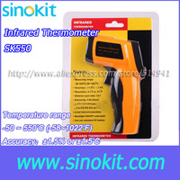 Professional Laser 50 ~ 550'C Infrared thermometer SK550