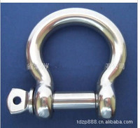 EUROPEAN TYPE BOW SHACKLE M8 M5 STAINLESS STEEL