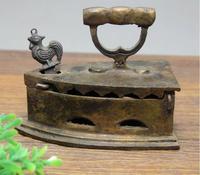 Antique bronze ornaments retro decor Home Furnishing old vintage brass iron iron Mini creative model