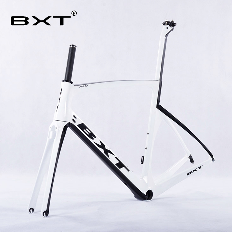 2016 New Design BXT Carbon Road Bike Frame+Fork+Seatpost Toray T800 Chinese Bike Frame 49-56CM UD/3K Carbon bicycle Frames 2018 t800 full carbon road frame ud bb86 road frameset glossy di2 mechanical carbon frame fork seatpost xs s m l og evkin