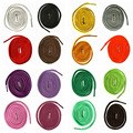 "71""/180cm Round Shoelaces oelace Shoe Laces Cord Ropes for Martin Boots Sport Shoes"