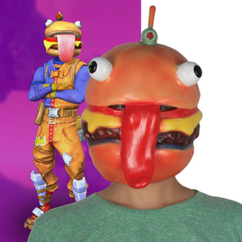 Costumes & Accessories Fortniter Latex Mask Fortress Night Game Battle Royale Cosplay Fortnited Raptor Pilot Skin Mask Fortnight Raptor Pilot Ma Helmet Spare No Cost At Any Cost