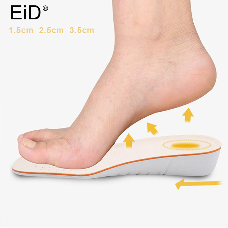 EID Height Increase Insoles for Men/Women height increasing shoes pad Inserts Care Foot Pads Comfortable soles for shoesEID Height Increase Insoles for Men/Women height increasing shoes pad Inserts Care Foot Pads Comfortable soles for shoes