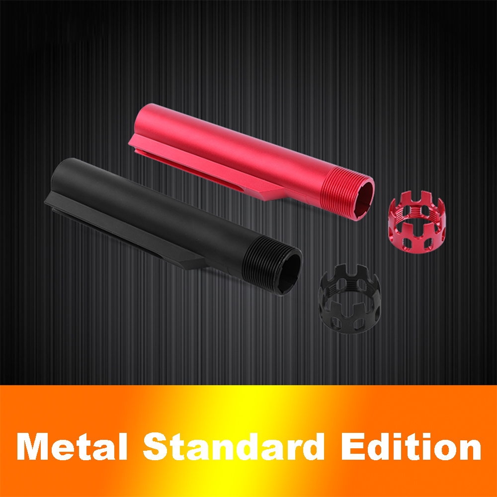 Lightweight CNC Aluminum Buttstock Tube For AEG AR15 M4 M16 Airsoft Air Gun Stock Pipe