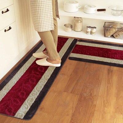 Aliexpress.com : 45*120 cm waschbar küche teppiche Gestreiften ...