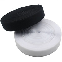 3cm*25m/pair Hand sewing Clothing without glue white and black Magic Nylon Sticker Double Sided Adhesive Hooks