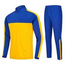 High Quality Adults &children Soccer Shirts+pants Sets Football Soccer Jerseys Survetement Football Training Suit men Sportswear