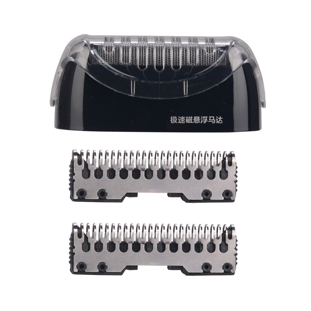 GONCON GS-5598 4 Blade Cutting System Razor Blade Beard Trimmer Shaver Stainless Steel Blade Replacement Head For Electric Shave men electric shaver razor blades the blade cutter head original rq12 replacement shaver head for 3d rq32 rq10 rq11 rq12